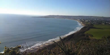 Image result for swanage bay
