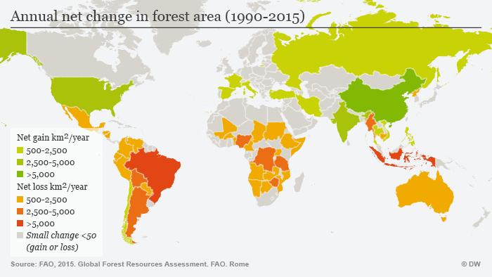 Image result for deforestation map 2016