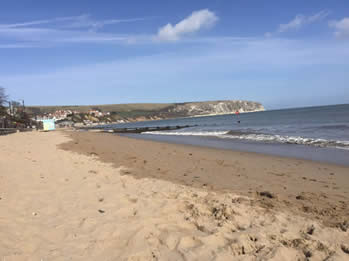 Image result for swanage beach replenishment