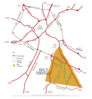 Image result for balti triangle