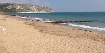 Image result for swanage beach